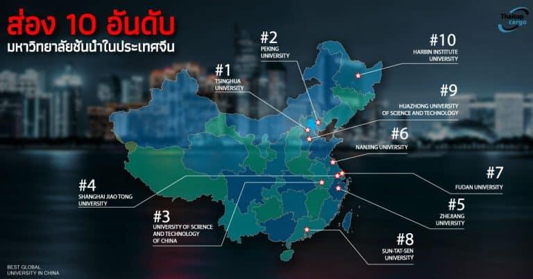Shipping จีน ส่อง 10 อันดับมหาวิทยาลัยชั้นนำในประเทศจีน Thaitopcargo shipping จีน Shipping จีน ส่อง 10 อันดับมหาวิทยาลัยชั้นนำในประเทศจีน 10 university 768x402