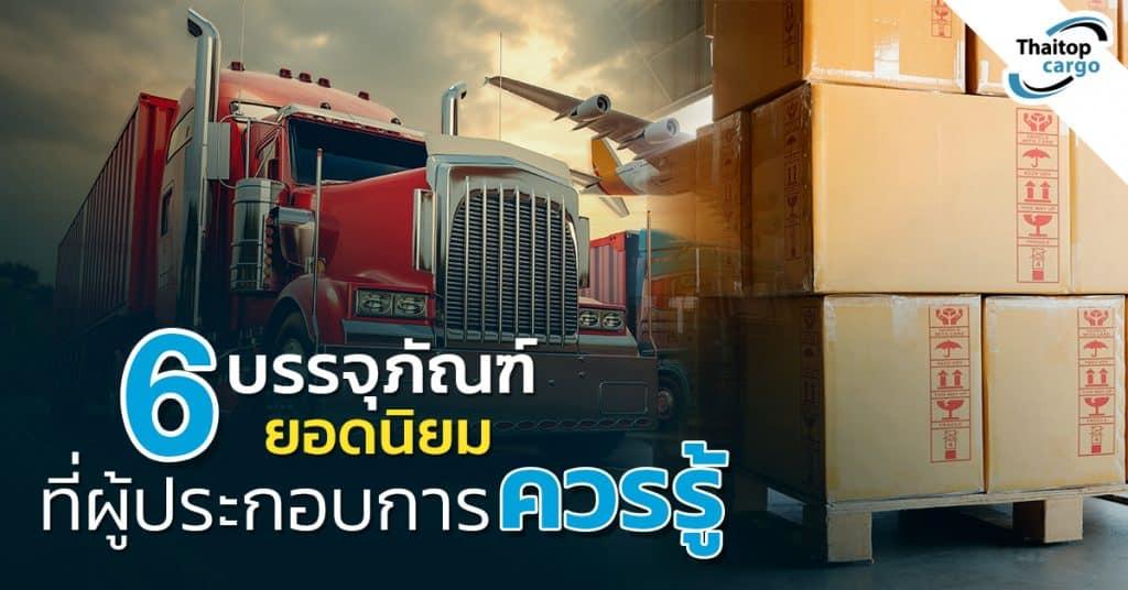 Shippingจีน 6 บรรจุภัณฑ์ที่ผู้ประกอบการควรรู้ Thaitopcargo shippingจีน Shippingจีนกับ 6 บรรจุภัณฑ์ (Packaging) ยอดนิยมที่ผู้ประกอบการควรรู้ 6                                                                                               Thaitopcargo 1024x536